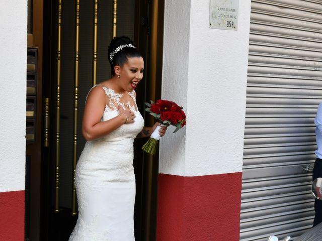 La boda de Claudia y German en Santa Coloma De Farners, Girona 22