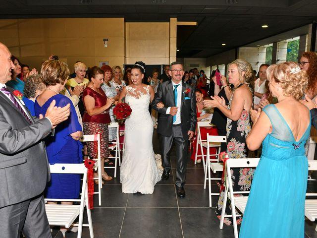 La boda de Claudia y German en Santa Coloma De Farners, Girona 28