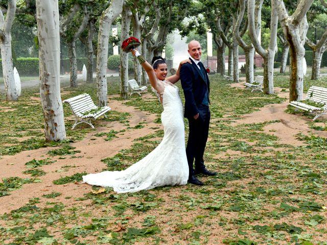 La boda de Claudia y German en Santa Coloma De Farners, Girona 34