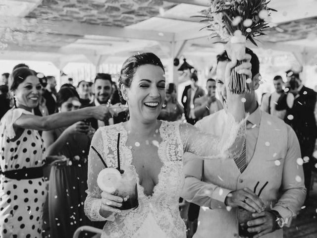 La boda de Daniel y Eva en Chiclana De La Frontera, Cádiz 153