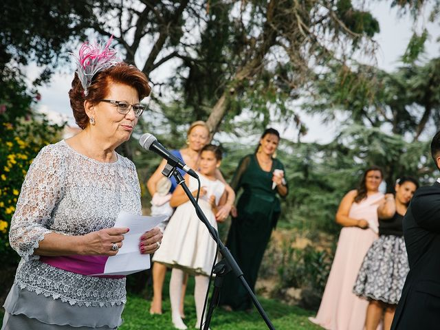 La boda de Miguel y Alejandra en Guadarrama, Madrid 41