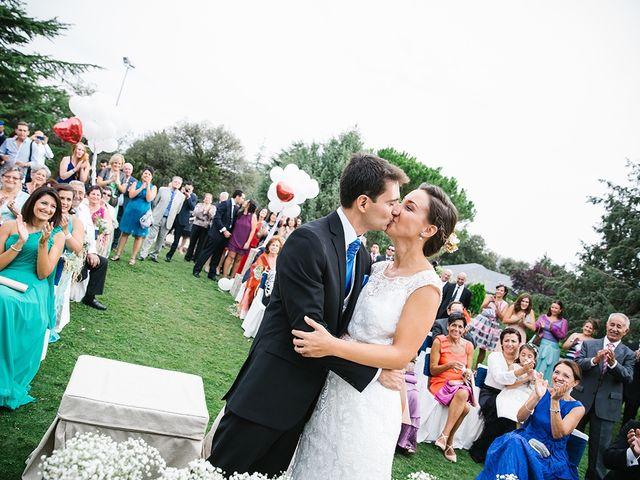 La boda de Miguel y Alejandra en Guadarrama, Madrid 49