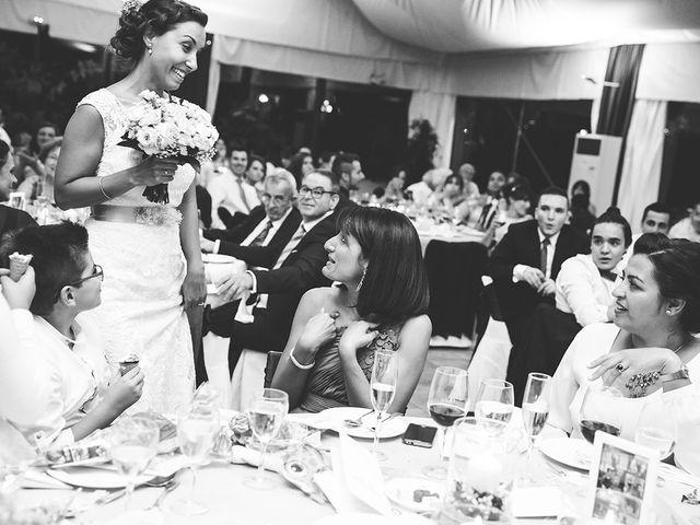 La boda de Miguel y Alejandra en Guadarrama, Madrid 86