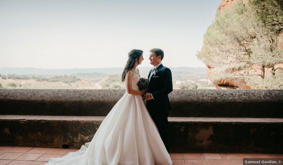 La boda de Oriol y Silvia en Falset, Tarragona