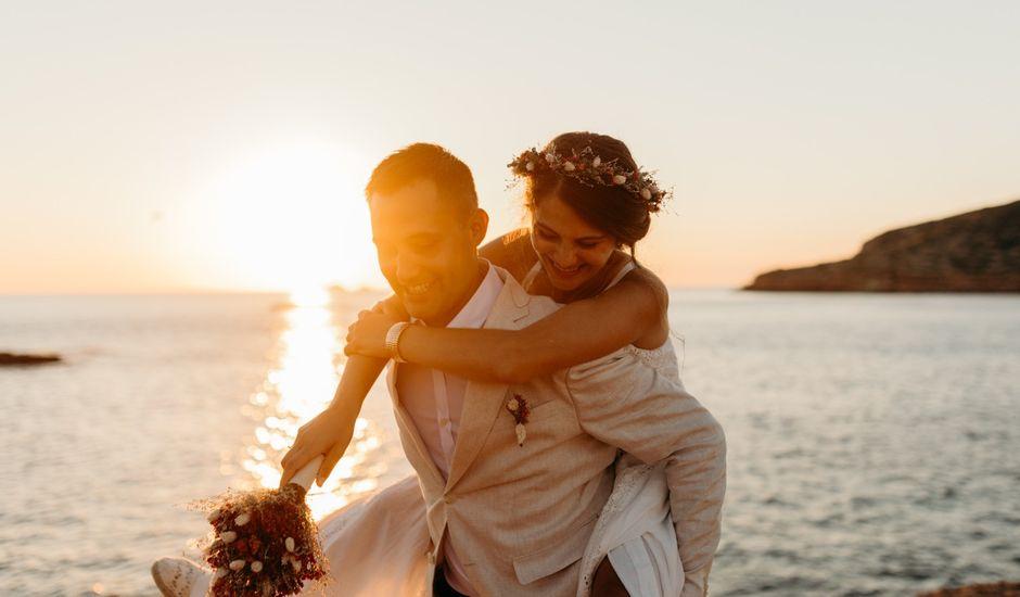 La boda de Raul y Anna en Cala Conta, Islas Baleares