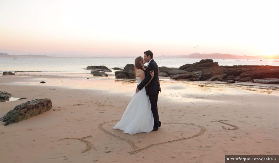 La boda de Juanjo y Tania en Hoznayo, Cantabria