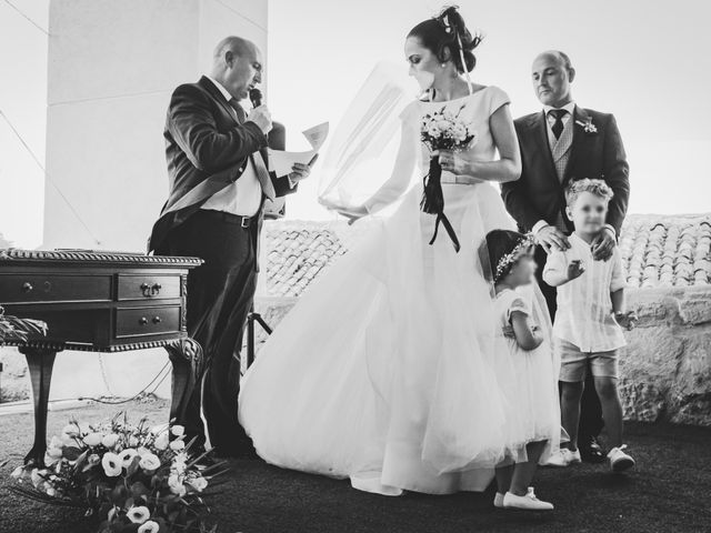 La boda de Emilio y Lydia en Belmonte, Cuenca 41