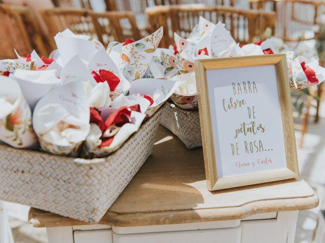 La boda de Carlos y Nuria en La Manga Del Mar Menor, Murcia 41