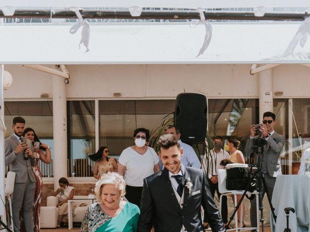 La boda de Carlos y Nuria en La Manga Del Mar Menor, Murcia 50