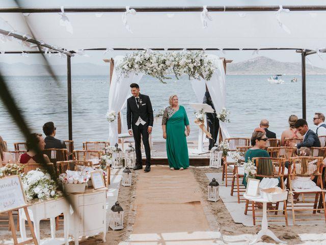 La boda de Carlos y Nuria en La Manga Del Mar Menor, Murcia 51