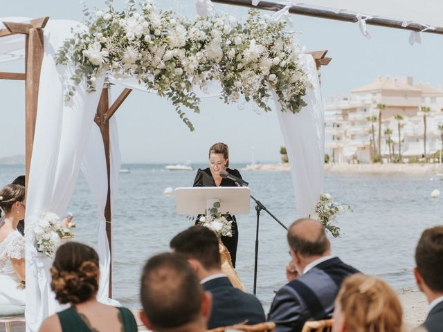 La boda de Carlos y Nuria en La Manga Del Mar Menor, Murcia 59