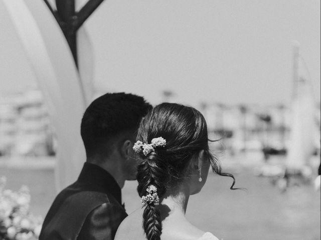 La boda de Carlos y Nuria en La Manga Del Mar Menor, Murcia 60