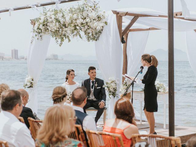 La boda de Carlos y Nuria en La Manga Del Mar Menor, Murcia 61