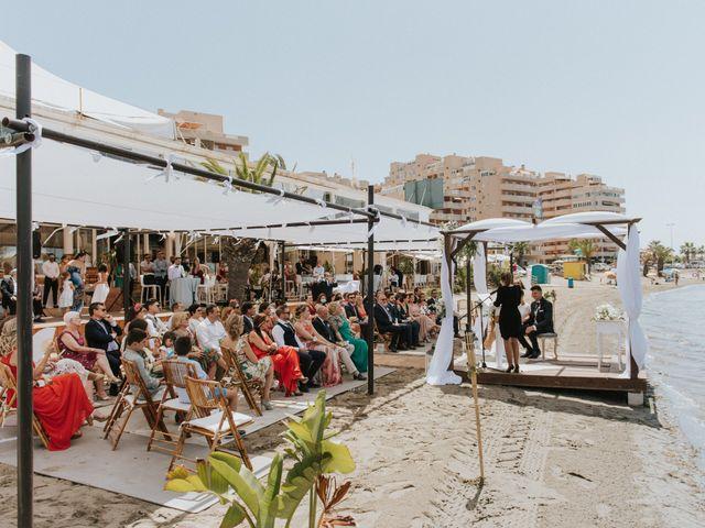 La boda de Carlos y Nuria en La Manga Del Mar Menor, Murcia 64