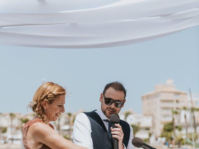 La boda de Carlos y Nuria en La Manga Del Mar Menor, Murcia 67