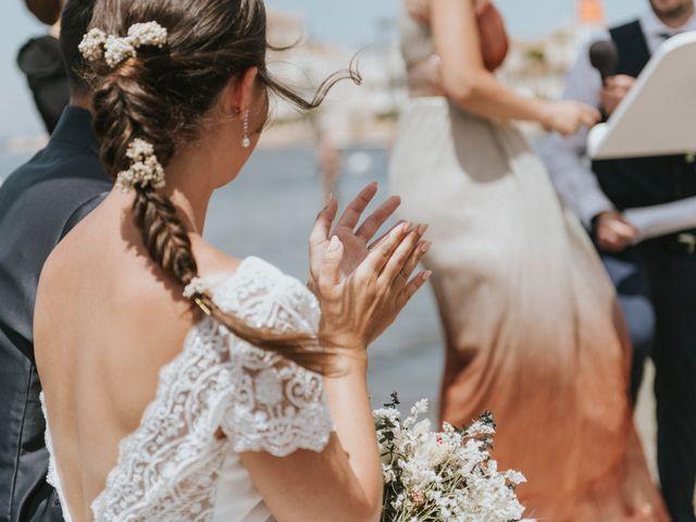 La boda de Carlos y Nuria en La Manga Del Mar Menor, Murcia 68
