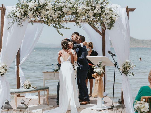 La boda de Carlos y Nuria en La Manga Del Mar Menor, Murcia 74