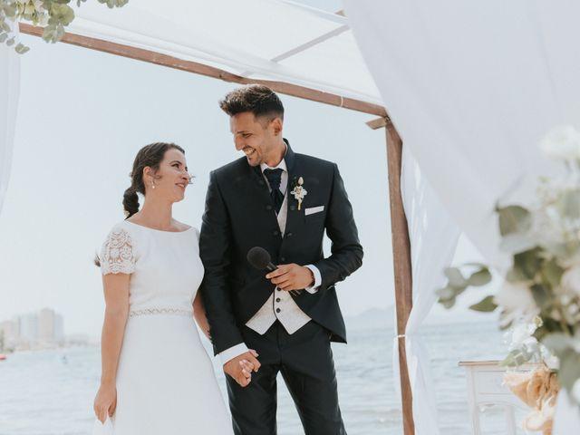 La boda de Carlos y Nuria en La Manga Del Mar Menor, Murcia 76