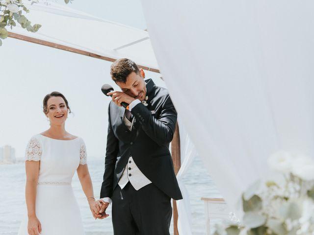 La boda de Carlos y Nuria en La Manga Del Mar Menor, Murcia 80