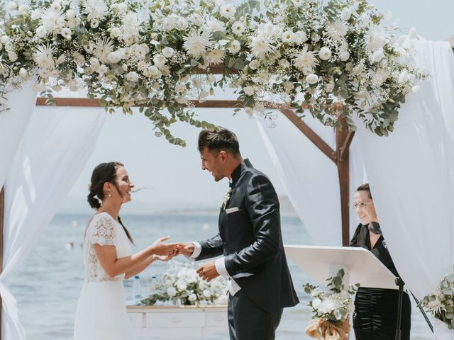 La boda de Carlos y Nuria en La Manga Del Mar Menor, Murcia 89