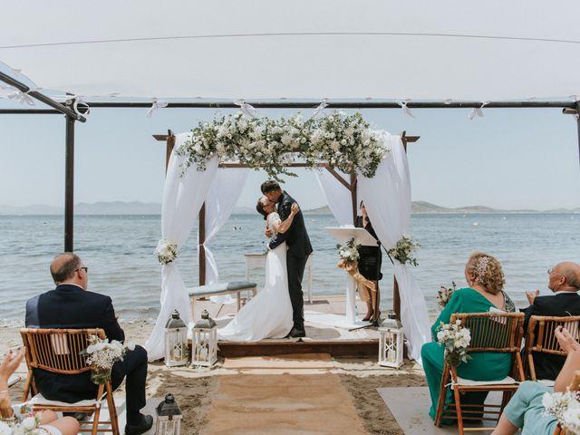 La boda de Carlos y Nuria en La Manga Del Mar Menor, Murcia 90