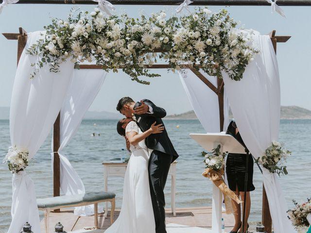 La boda de Carlos y Nuria en La Manga Del Mar Menor, Murcia 91