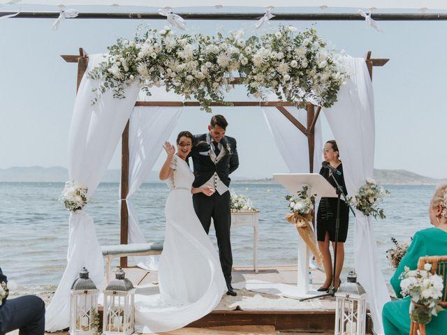 La boda de Carlos y Nuria en La Manga Del Mar Menor, Murcia 92