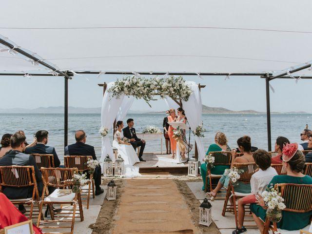 La boda de Carlos y Nuria en La Manga Del Mar Menor, Murcia 93