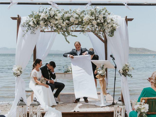 La boda de Carlos y Nuria en La Manga Del Mar Menor, Murcia 96