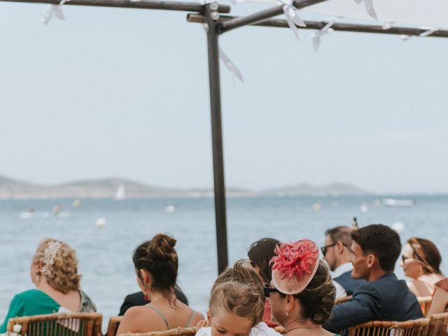 La boda de Carlos y Nuria en La Manga Del Mar Menor, Murcia 97
