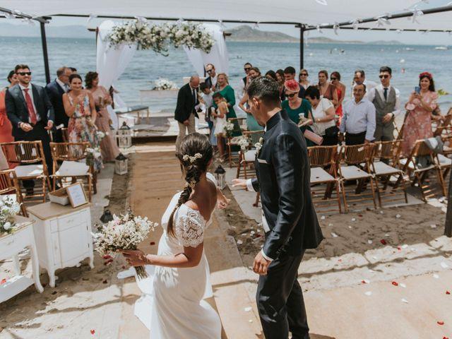 La boda de Carlos y Nuria en La Manga Del Mar Menor, Murcia 106