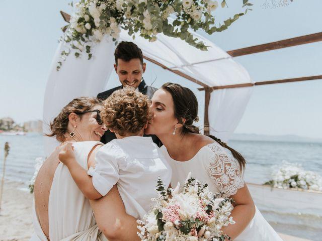 La boda de Carlos y Nuria en La Manga Del Mar Menor, Murcia 111