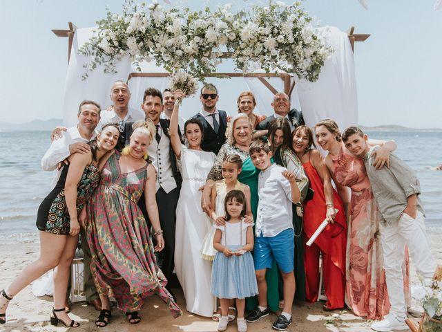 La boda de Carlos y Nuria en La Manga Del Mar Menor, Murcia 112