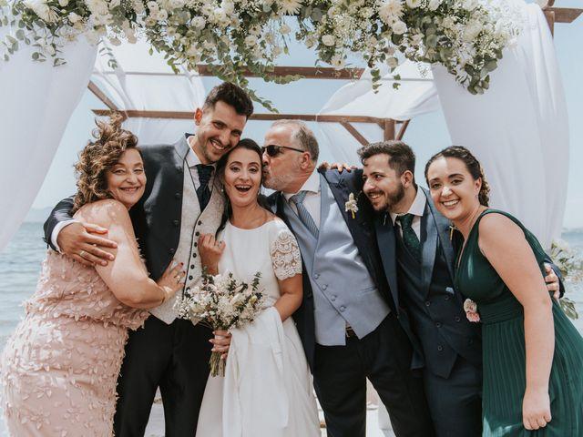 La boda de Carlos y Nuria en La Manga Del Mar Menor, Murcia 113