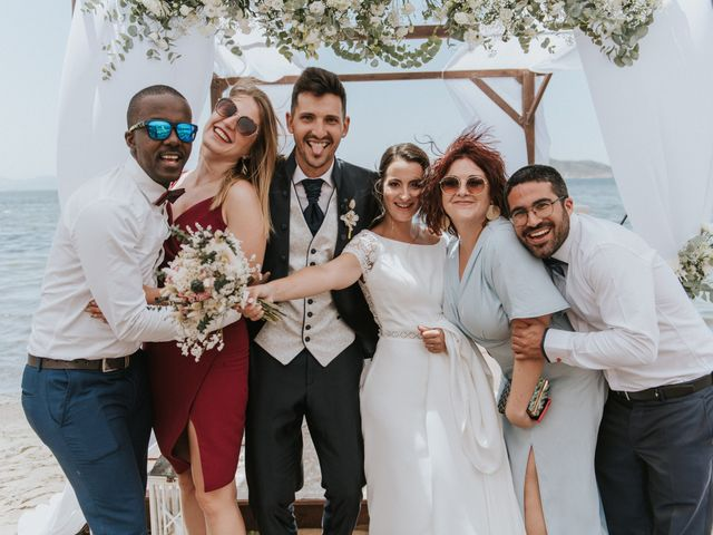 La boda de Carlos y Nuria en La Manga Del Mar Menor, Murcia 114