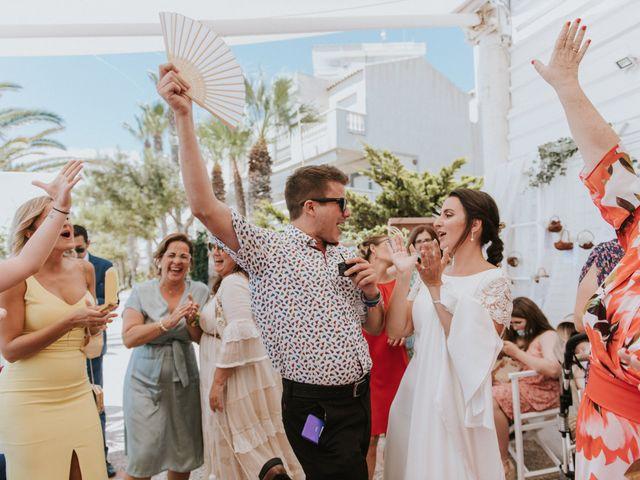 La boda de Carlos y Nuria en La Manga Del Mar Menor, Murcia 129