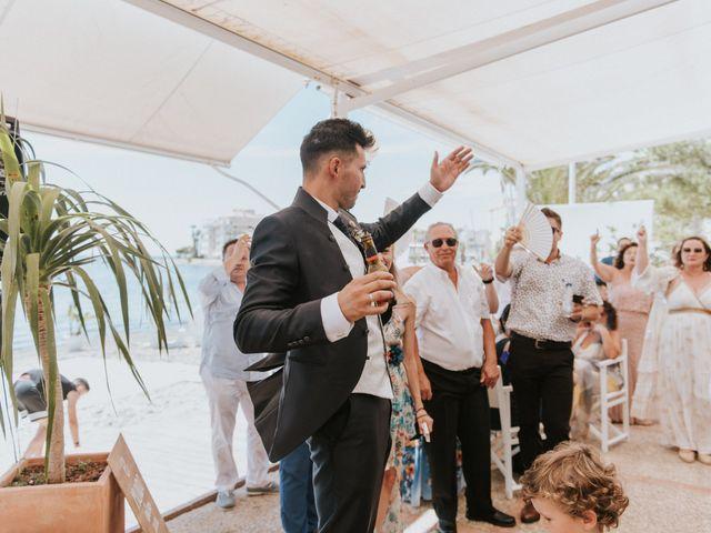 La boda de Carlos y Nuria en La Manga Del Mar Menor, Murcia 130