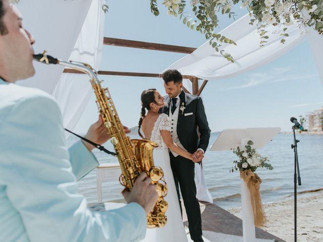La boda de Carlos y Nuria en La Manga Del Mar Menor, Murcia 133