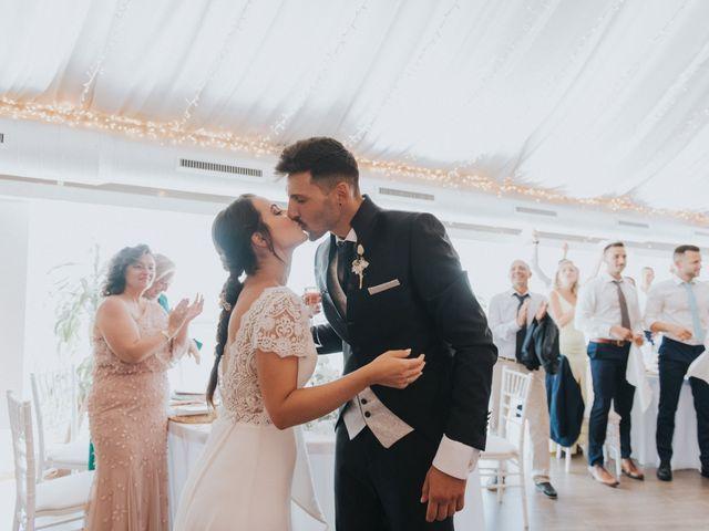 La boda de Carlos y Nuria en La Manga Del Mar Menor, Murcia 142