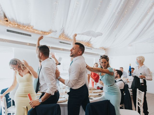 La boda de Carlos y Nuria en La Manga Del Mar Menor, Murcia 143