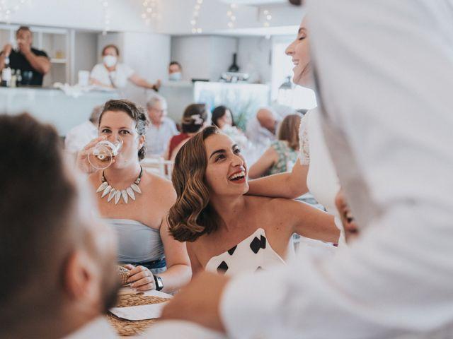 La boda de Carlos y Nuria en La Manga Del Mar Menor, Murcia 151