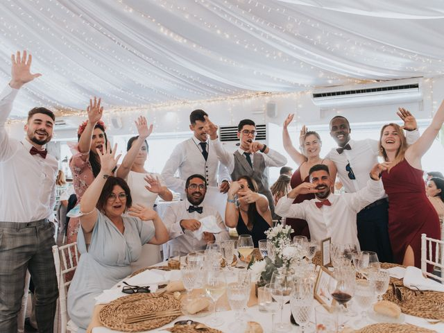 La boda de Carlos y Nuria en La Manga Del Mar Menor, Murcia 169