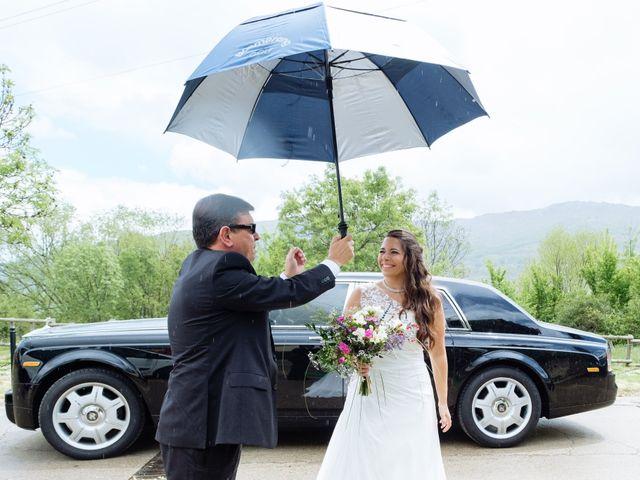 La boda de Jorge y Alba en Pinilla Del Valle, Madrid 14