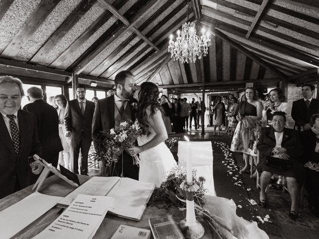 La boda de Jorge y Alba en Pinilla Del Valle, Madrid 15
