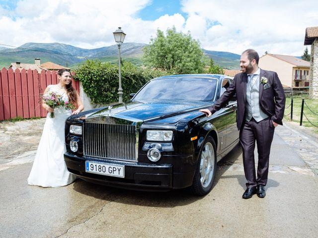 La boda de Jorge y Alba en Pinilla Del Valle, Madrid 25