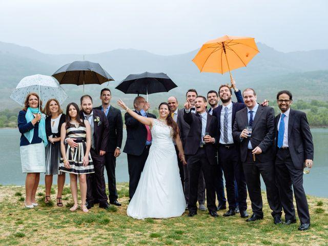 La boda de Jorge y Alba en Pinilla Del Valle, Madrid 28