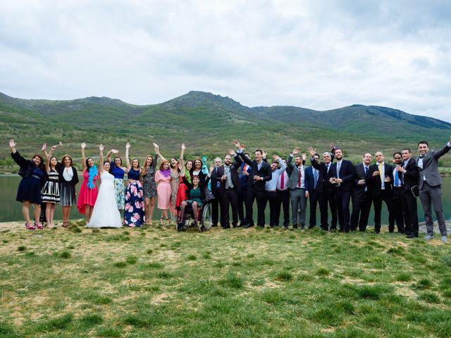 La boda de Jorge y Alba en Pinilla Del Valle, Madrid 30