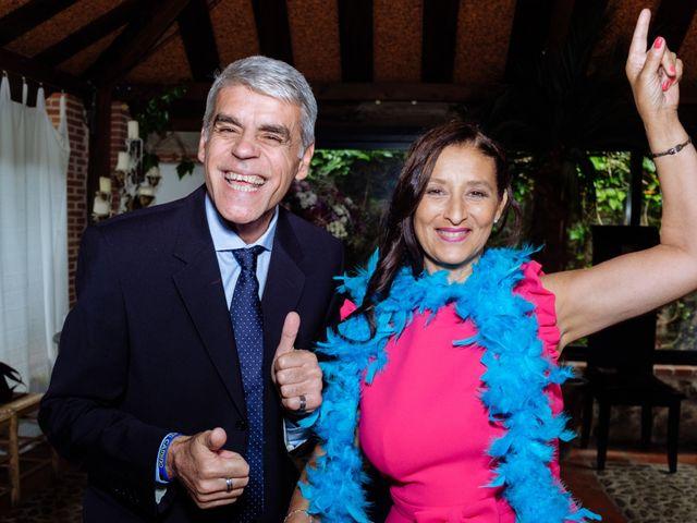 La boda de Jorge y Alba en Pinilla Del Valle, Madrid 43