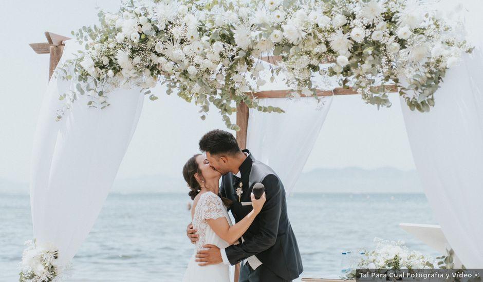 La boda de Carlos y Nuria en La Manga Del Mar Menor, Murcia