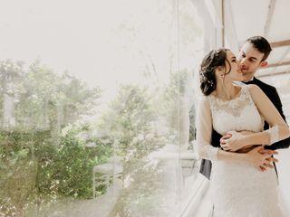 La boda de Elvira y Gabriele